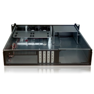 "Industrial Chassis Rack 19 ""/Desktop 2U Ultra-compact - Techly - I-CASE IPC-240L-2"