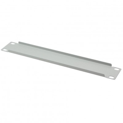 "Blind panel 1U for cabinet 10"" Light Grey - Techly Professional - I-CASE M10-BLANK-1"