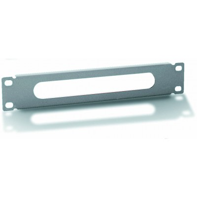 "Fairlead panel 10"" 1U Grey - Techly Professional - I-CASE M10-CABLE2-1"