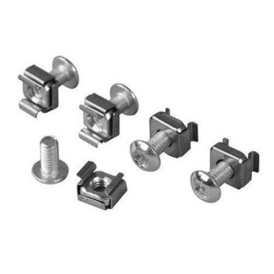 Kit of 4 Torx T30 screws. 4 Nuts for Rack Mounting - Techly Professional - I-CASE MOUNT-T-1