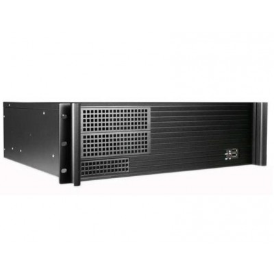 "Chassis Industrial Rack 19""/3U Desktop Ultra Compact Black - Techly - I-CASE MP-P4HX-BLK4-0"