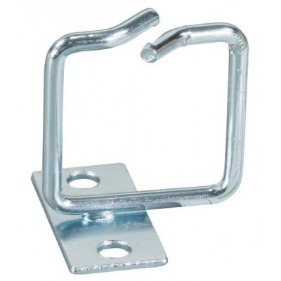 Anello Passacavi Laterale 80x80 mm in Acciaio Zincato per Armadi Rack - Techly Professional - I-CASE RING-SLIM88-0