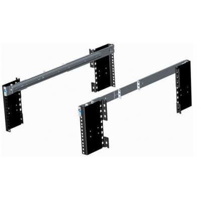 Pair of 500mm Telescopic Slide for Rack Chassis - Techly - I-CASE STF-P4HX-1