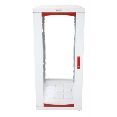 "Server Rack 19"" 600x1000 27U White IdealNET series - Techly Professional - I-CASE SVR-I276WH7-10"