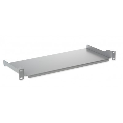 "Shelf for ETSI cabinet 21"" depth. 200 mm grey - Techly Professional - I-CASE TRAY-200-ETG-1"