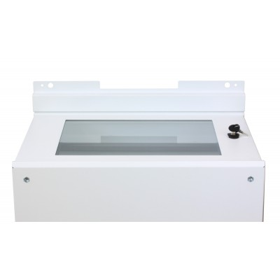 Wall Brackets for Fixing Cabinet Series EE White - Techly Professional - I-CASE TRAY-EE2008WH-1