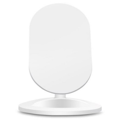 Wireless Charger Qi Stand Steady 5W White - Techly - I-CHARGE-WRM-5W-2