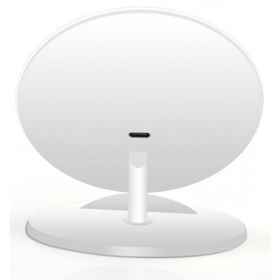 Wireless Charger Qi Vertical Stand 5W White - Techly - I-CHARGE-WRQ-5WH-2