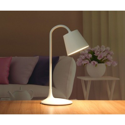 Vintage LED Table Lamp White Class A - Techly - I-LAMP-DSK4-5