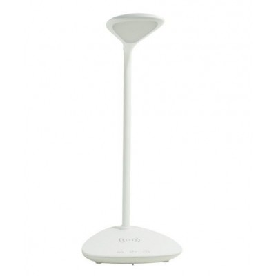 Table LED Lamp with Wireless Charger - Techly - I-LAMP-DSK6-4