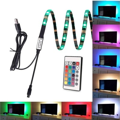 30 LED Strip 2m USB RGB for Backlighting TV A ++ - Techly Np - I-LED-TV-1