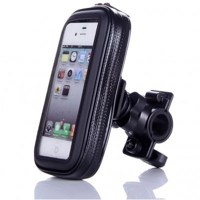 Waterproof Case for Smartphones by Bike up to 5 inches - Techly Np - I-SMART-CYCLE3-1