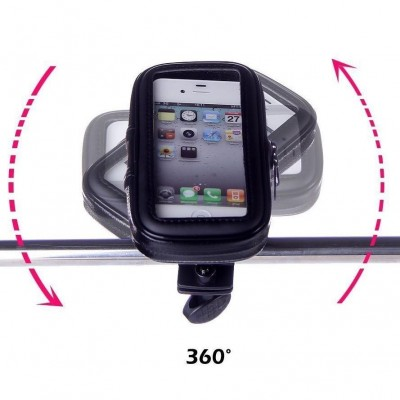 Waterproof Case for Smartphones by Bike up to 5 inches - Techly Np - I-SMART-CYCLE3-3
