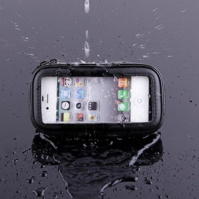 Waterproof Case for Smartphones by Bike up to 5 inches - Techly Np - I-SMART-CYCLE3-4