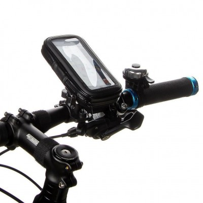 Waterproof Case for Smartphones by Bike up to 5 inches - Techly Np - I-SMART-CYCLE3-2