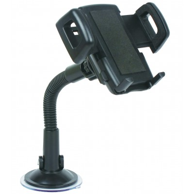 Car Sucker Stand Support for Smartphone - Techly - I-SMART-VENT-2