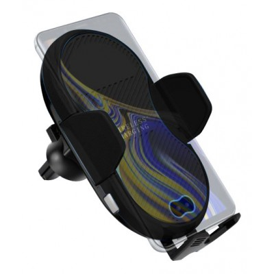 Qi Wireless car charger with sucker with automatic adjustment - Techly Np - I-SMART-WRL3-1