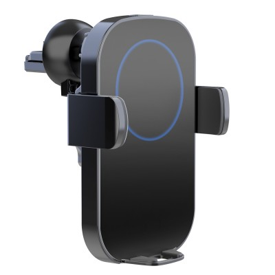 Qi Wireless car charger with sucker with automatic adjustment - Techly - I-SMART-WRL41-1