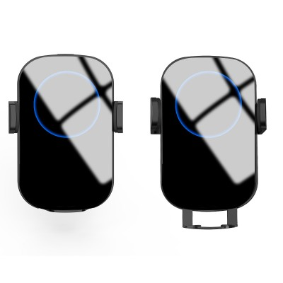 Qi Wireless car charger with sucker with automatic adjustment - Techly - I-SMART-WRL41-10