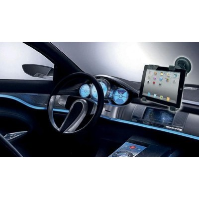 "Universal Car Sucker Stand for Tablet 7-10.1"" - Techly - I-TABLET-VENT-3"