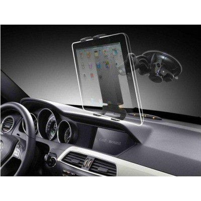 "Universal Car Sucker Stand for Tablet 7-10.1"" - Techly - I-TABLET-VENT-4"