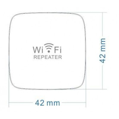 Mini Repeater 300Mbps Wall Wireless Amplifier Repeater7 - Techly - I-WL-REPEATER7-3