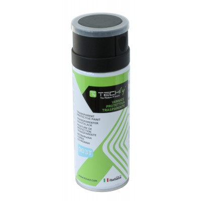 Transparent Protective Paint 400ml - Techly - ICA-CA 003T-1