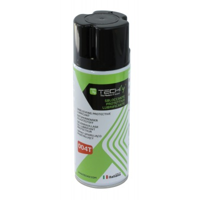 Unblocking Protective Lubricant 400ml - Techly - ICA-CA 004T-1