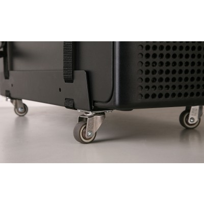 Universal PC Case Tower holder with wheels - Techly - ICA-CS 61-3