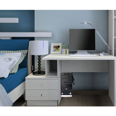 PC holder for desk side board and wall mount  - Techly - ICA-CS 62-6