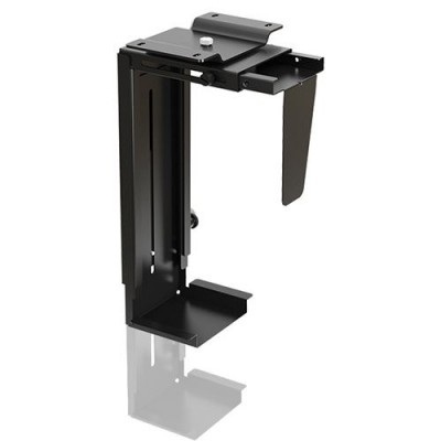 Adjustable Under-Desk /Wall CPU Mount - Techly - ICA-CS 66-3