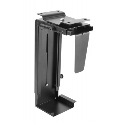 Adjustable Under-Desk /Wall CPU Mount - Techly - ICA-CS 66-1