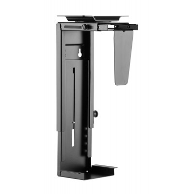 Adjustable Under-Desk /Wall CPU Mount - Techly - ICA-CS 66-7