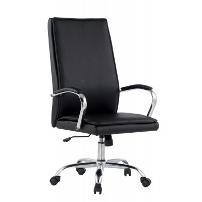 Executive Armchair with Armrests, Black  - Techly - ICA-CT 002BK-1