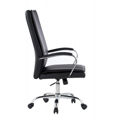 Executive Armchair with Armrests, Black  - Techly - ICA-CT 002BK-2
