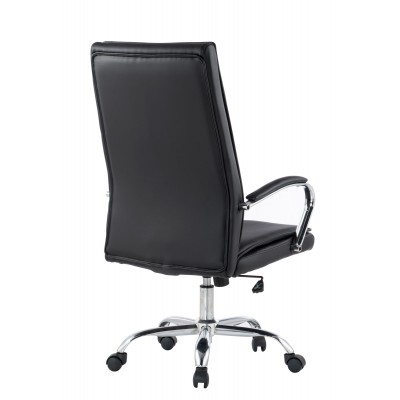 Executive Armchair with Armrests, Black  - Techly - ICA-CT 002BK-3