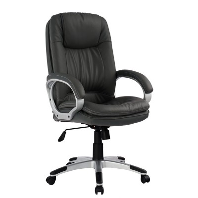 Padded Directional Armchair with Armrests, Black - Techly - ICA-CT 028BK-5