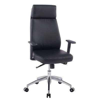 Executive Armchair with Armrests, Black - Techly - ICA-CT 073BK-5
