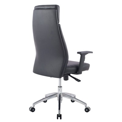 Executive Armchair with Armrests, Black - Techly - ICA-CT 073BK-3