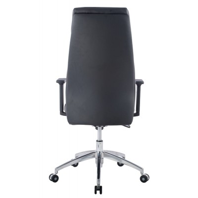 Executive Armchair with Armrests, Black - Techly - ICA-CT 073BK-2