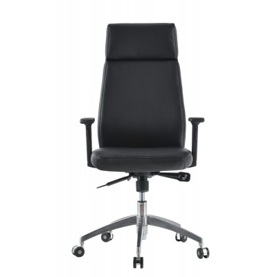 Executive Armchair with Armrests, Black - Techly - ICA-CT 073BK-1
