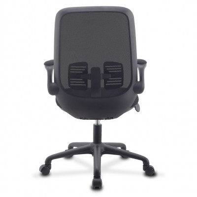 Office Chair Adjustable in Height and Variable Tilt Black - Techly - ICA-CT ARMDL-BK-4