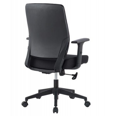 Office armchair with padded seat and armrests - Techly - ICA-CT DC001BK-3