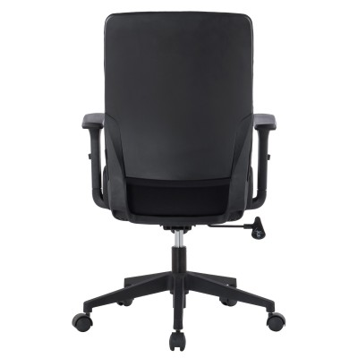 Office armchair with padded seat and armrests - Techly - ICA-CT DC001BK-4