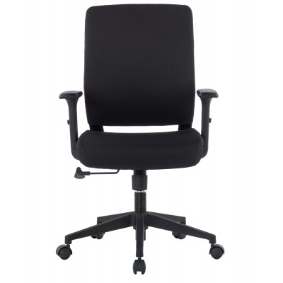 Office armchair with padded seat and armrests - Techly - ICA-CT DC001BK-1