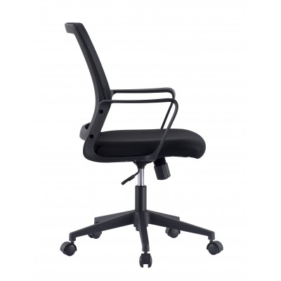 Office Chair with Padded Seat and Mesh Backrest - Techly - ICA-CT MC063BK-3