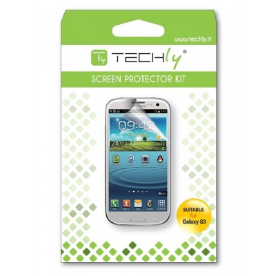 Display Protective Film for Samsung Galaxy S3 Ultra Clear - Techly - ICA-DCP 117-1