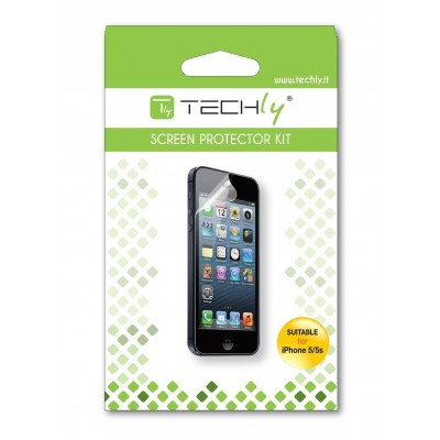 Display Protective Film for iPhone 5 / 5S Ultra Clear - Techly - ICA-DCP 818-1