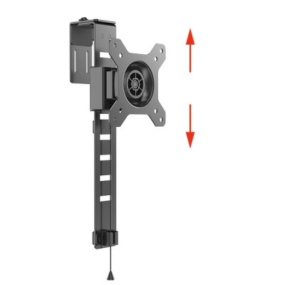 Cubicle Hanging Monitor Mount - Techly - ICA-LCD 10-3