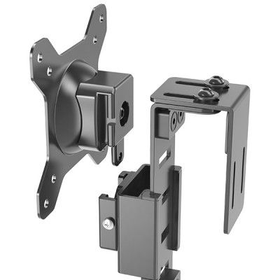 Cubicle Hanging Monitor Mount - Techly - ICA-LCD 10-5